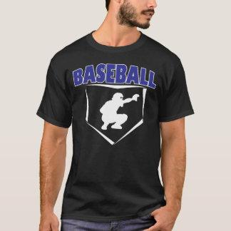Baseballfänger Grafik-T - Shirt