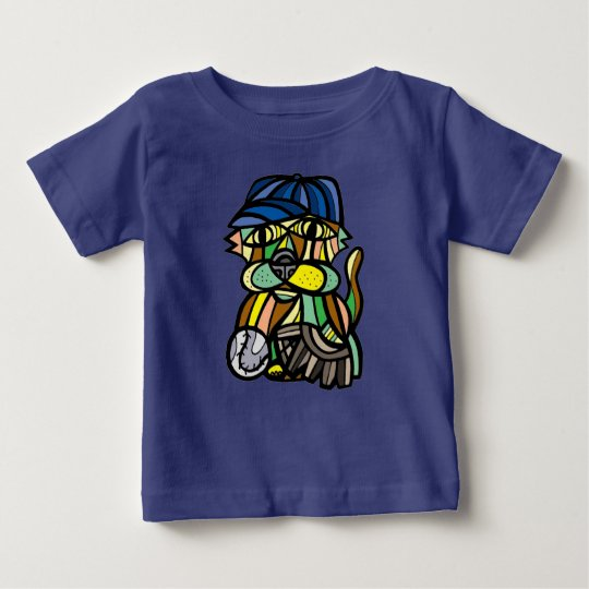 """Baseballkat-"" Baby-T - Shirt"