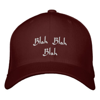 Baseballmütze Blabla - Blabla gestickter Bestickte Kappe
