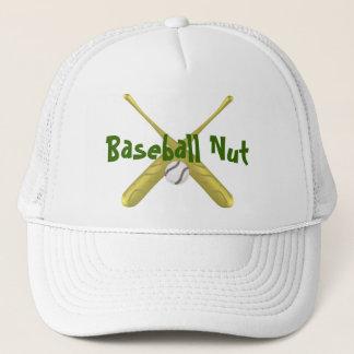 Baseballschläger gekreuzt mit Ball ~edit Truckerkappe