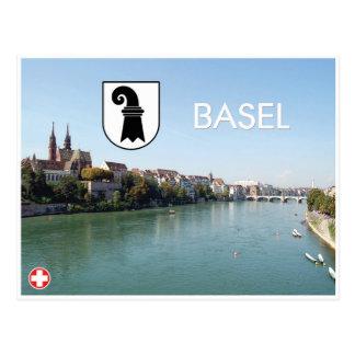 Basel- - Schweiz-Postkarte Postkarte