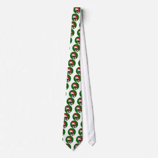 Basenji_Christmas Personalisierte Krawatten