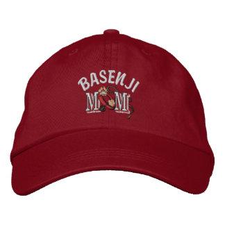 Basenji Hundemamma-Geschenke Bestickte Baseballkappe
