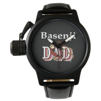 Basenji Hundevati Armbanduhr
