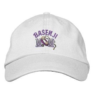 Basenji Mamma-Geschenke Bestickte Baseballkappe