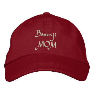 Basenji Mamma-Stickerei Bestickte Kappe