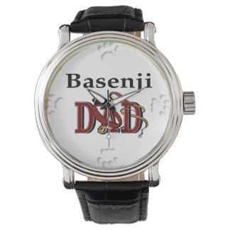 Basenji Vati-Geschenke Armbanduhr