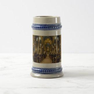Basilika-Hochzeits-Tasse Bierkrug