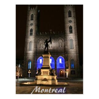 Basilika Montreals Notre-Dame Postkarte