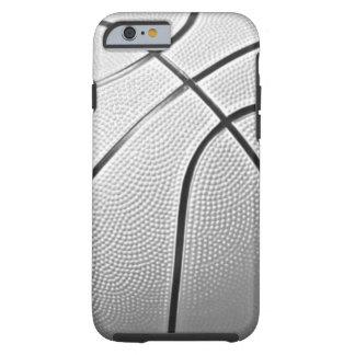 Basket-ball noir et blanc coque iPhone 6 tough