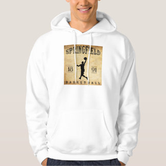 Basketball 1891 Springfields Massachusetts Hoodie