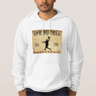 Basketball 1891 Springfields Massachusetts Hoodie