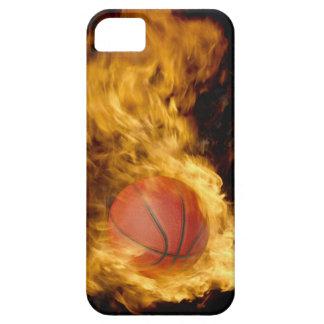 Basketball auf Feuer (digitale Zusammensetzung) iPhone 5 Case