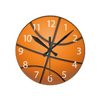 Basketball Balluhr Runde Wanduhr