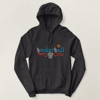 Basketball Bestickter Hoodie