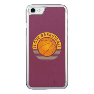 Basketball der Liebe I Carved iPhone 8/7 Hülle