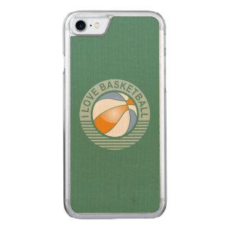 Basketball der Liebe I Carved iPhone 8/7 Hülle
