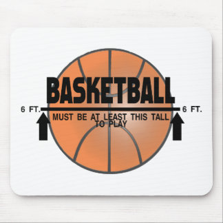 Basketball dieses hoch zum zu spielen mousepad