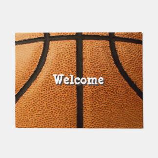 Basketball-Druck-Muster-Hintergrund Türmatte
