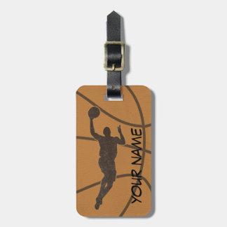 Basketball-Gepäckanhänger Kofferanhänger