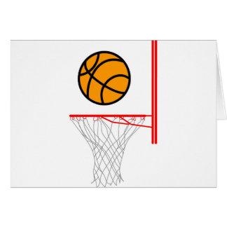 Basketball Grußkarte