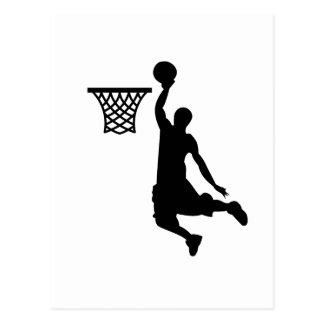 Basketball ist großer Sport Postkarte