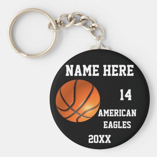 Basketball Keychains Standard Runder Schlüsselanhänger