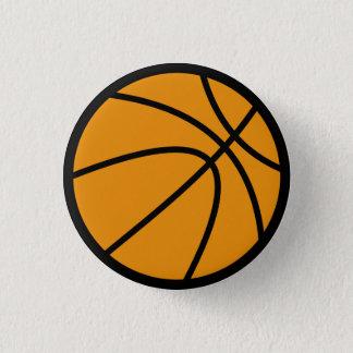 Basketball-Knopf Runder Button 3,2 Cm