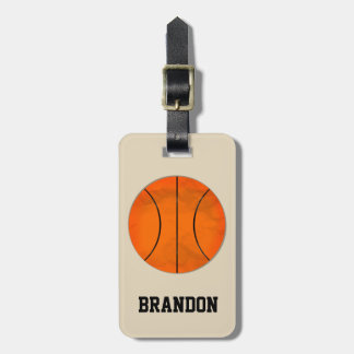 Basketball Kofferanhänger