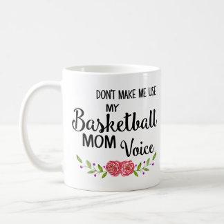 Basketball-Mamma-Stimme Kaffeetasse