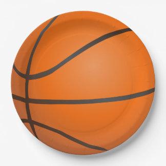 Basketball-Party-Papier-Teller Pappteller
