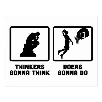 Basketball Postkarte
