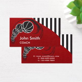 Basketball-Trainer Visitenkarte