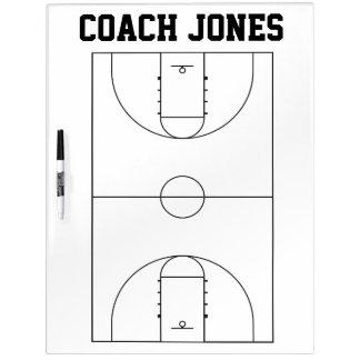 Basketball-Trainers-trockenes Löschen-Brett Memo Board