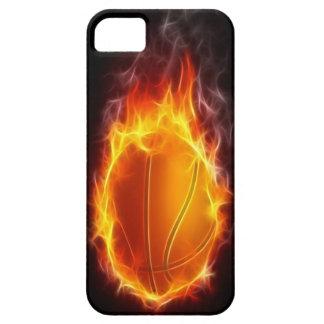 Basketball von Feuer iPhone 5 Fall Hülle Fürs iPhone 5