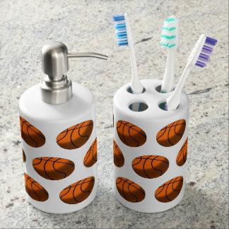 Basketball-Zahnbürste-Halter u. Seifen-Zufuhr Zahnbürstenhalter