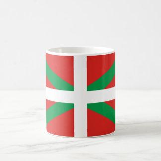 Baskische Flaggen-Tasse Kaffeetasse