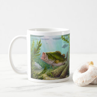 Bass-Fische Kaffeetasse