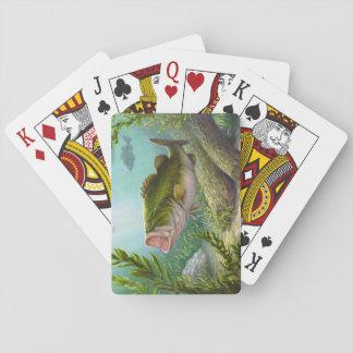 Bass-Fische Spielkarten