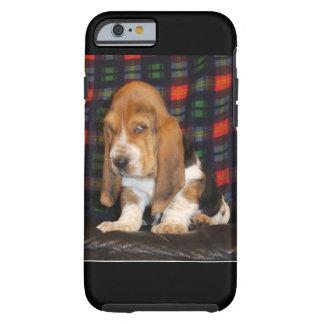 Basset Hound-Handyfall Tough iPhone 6 Hülle