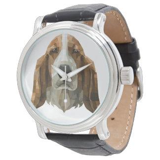 Basset Hound Uhr