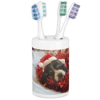 Bassetseife und Zahnbürstehalter Badset