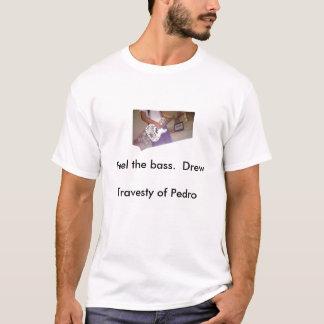 Bassist der Karikatur T-Shirt