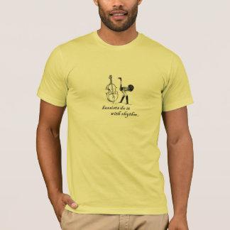 Bassisten tun es mit Rhythmus T-Shirt