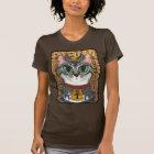 Bast-Göttin-Ägypter Bastet Katzen-Kunst-T - Shirt
