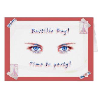 Bastille-TagesParty! Grußkarte