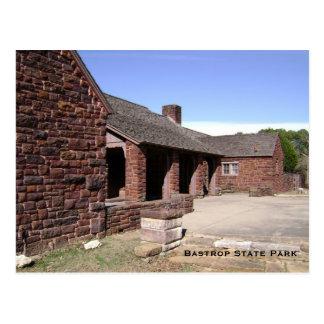 Bastrop Staats-Park-Postkarte Postkarte