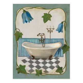 Bath de fleur de Bell Carte Postale
