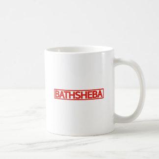 Bathsheba Briefmarke Kaffeetasse