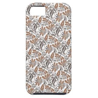 Batik Walang weißes Muster (Java-Muster) Schutzhülle Fürs iPhone 5